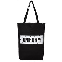 Uniform Experiment Star Box Logo Tote Black