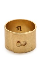 Madewell Wide Glider Ring Vintage Gold
