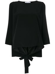 Gianluca Capannolo Julie Top Triacetate Polyester Black