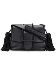Marco De Vincenzo Giummi Bag With Details In Trimming Black