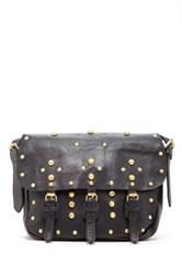 Raj Shalcy Studded Messenger Bag Black