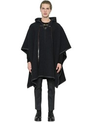 Dolce And Gabbana Wool Cashmere Blend Poncho