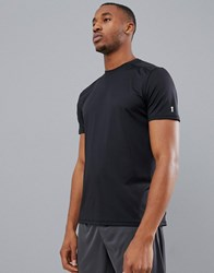 New Look Sport Stretch T Shirt In Black