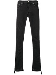 The Editor Classic Slim Fit Jeans Black