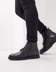 Kg By Kurt Geiger Lace Up Boot In Black