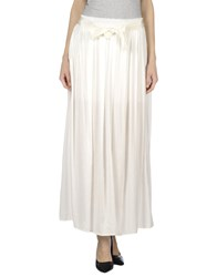 Woolrich Skirts Long Skirts Women White
