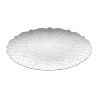 Alessi Dressed Round Tray White