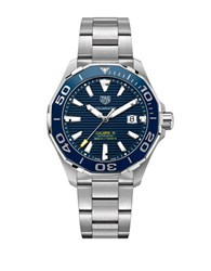 Tag Heuer Aquaracer Automatic Stainless Steel Watch Way201bba092 Silver
