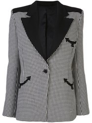 Paco Rabanne Fitted Houndstooth Blazer 60