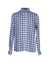 Brooksfield Shirts Blue