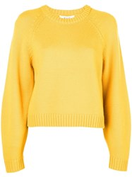 Milly Crew Neck Jumper Yellow