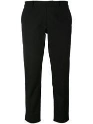 Joseph Cropped Trousers Black