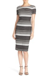 Women's Eci Stripe Jersey Sheath Dress