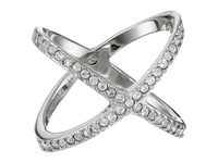 Michael Kors Brilliance Pave X Ring Silver Ring