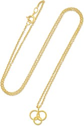 Buccellati Hawaii 18 Karat Gold Necklace One Size