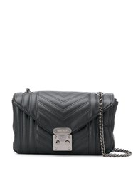 Marc Ellis Quilted Effect Shoulder Bag Black