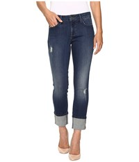 Nydj Lorena Boyfriend In Paddington Paddington Women's Jeans Blue