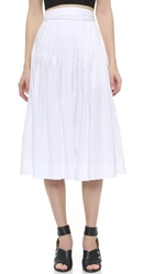 Jill Stuart Pleated Skirt White
