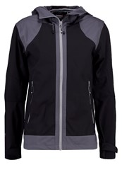 Icepeak Saxon Soft Shell Jacket Schwarz Black