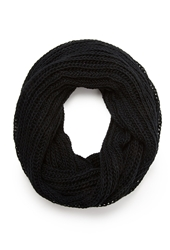 Forever 21 Open Knit Infinity Scarf