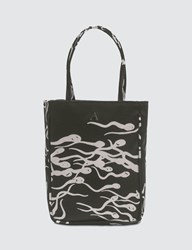 Ashley Williams Kate Sperm Print Little Bag Black