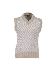 Alain Sweater Vests Light Grey