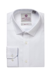 Skopes Men's Contemporary Collection Formal Shirt White