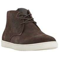 Dune Shoreditch High Top Trainers Brown