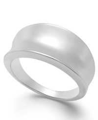 Giani Bernini Concave Ring In Sterling Silver