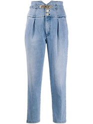 Pinko High Rise Cropped Jeans 60