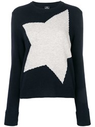 Paul Smith Ps By Star Jumper Blue