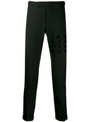 Thom Browne 4 Bar Low Rise Weave Suiting Trousers 60