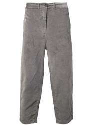 Casey Casey Straight Leg Trousers Grey