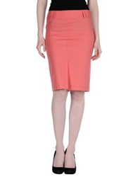 Toy G. Knee Length Skirts Coral