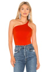 Amanda Uprichard Carson Top Red