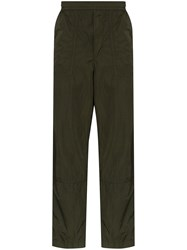 Moncler Shell Track Pants Green
