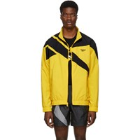 Reebok Classics Yellow And Black Vector Track Jacket