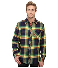 Marmot Anderson Flannel Long Sleeve Shirt Arctic Navy Men's Long Sleeve Button Up