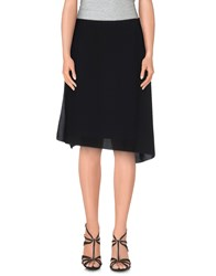 Adele Fado Skirts Knee Length Skirts Women Black