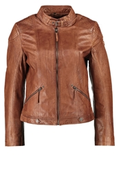 Gipsy Tiffy Leather Jacket Cognac