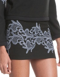 Plenty By Tracy Reese Mini Skirt Black