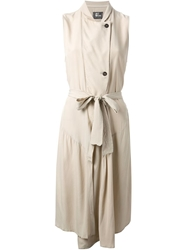Lost And Found Tailored Dress Nude And Neutrals