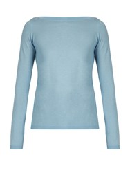 Max Mara Ampex Sweater Light Blue