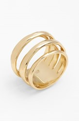 Alexis Bittar 'Miss Havisham Kinetic Gold' Stack Ring