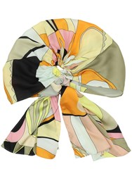 Marzoline Lvr Exclusive Panarea Silk Head Scarf Multicolor