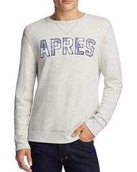 Sol Angeles Apres Graphic Sweatshirt Lt Heather