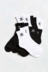 Adidas Cushioned Quarter Sock 6 Pack White