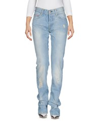 Care Label Jeans Blue