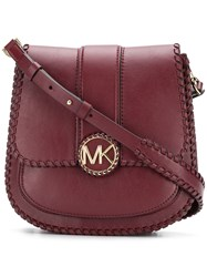 Michael Michael Kors Lillie Messenger Bag Red