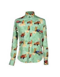 Stella Jean Shirts Light Green